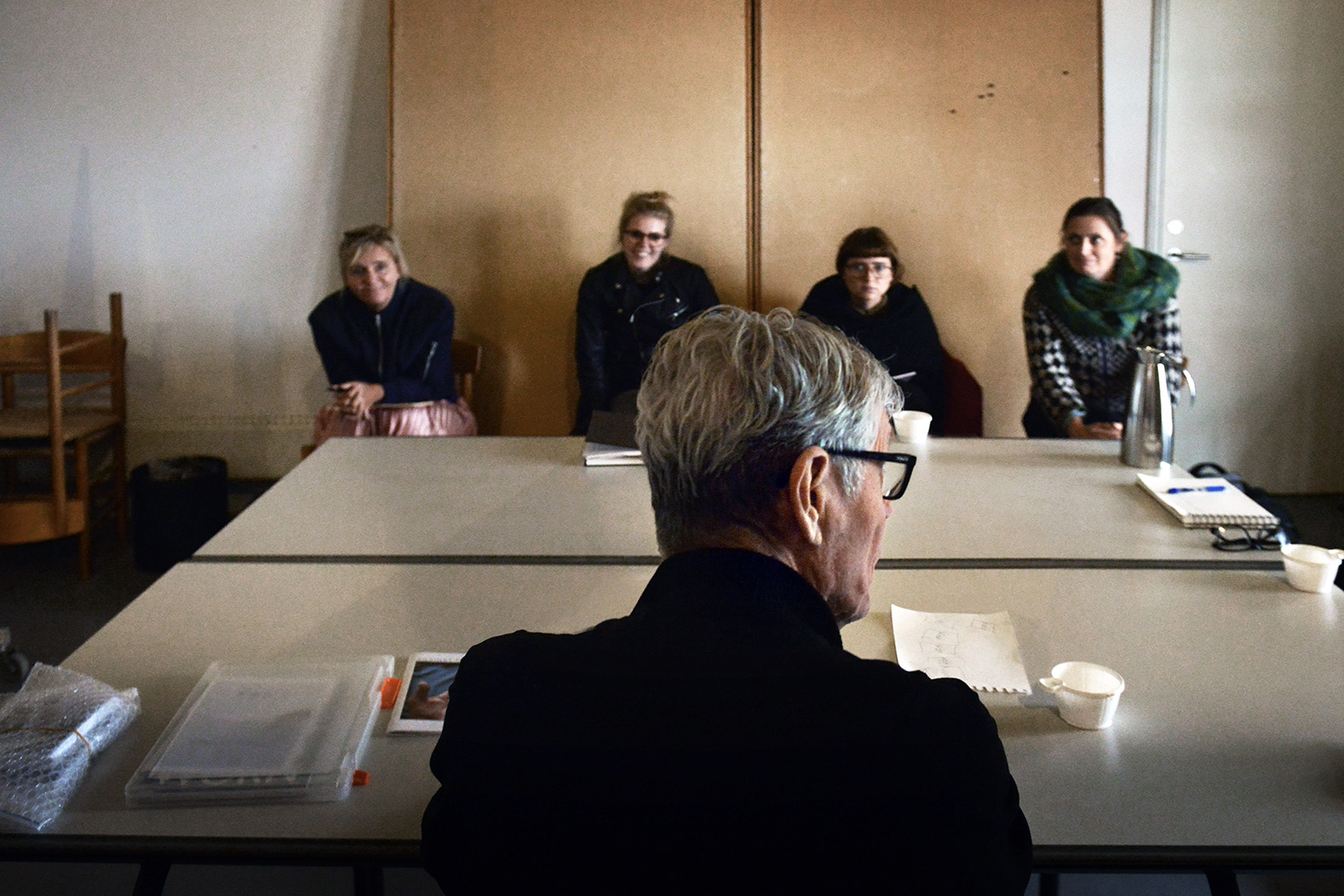Photographer Harvey Benge tought a workshop on Saturday and Sunday.
