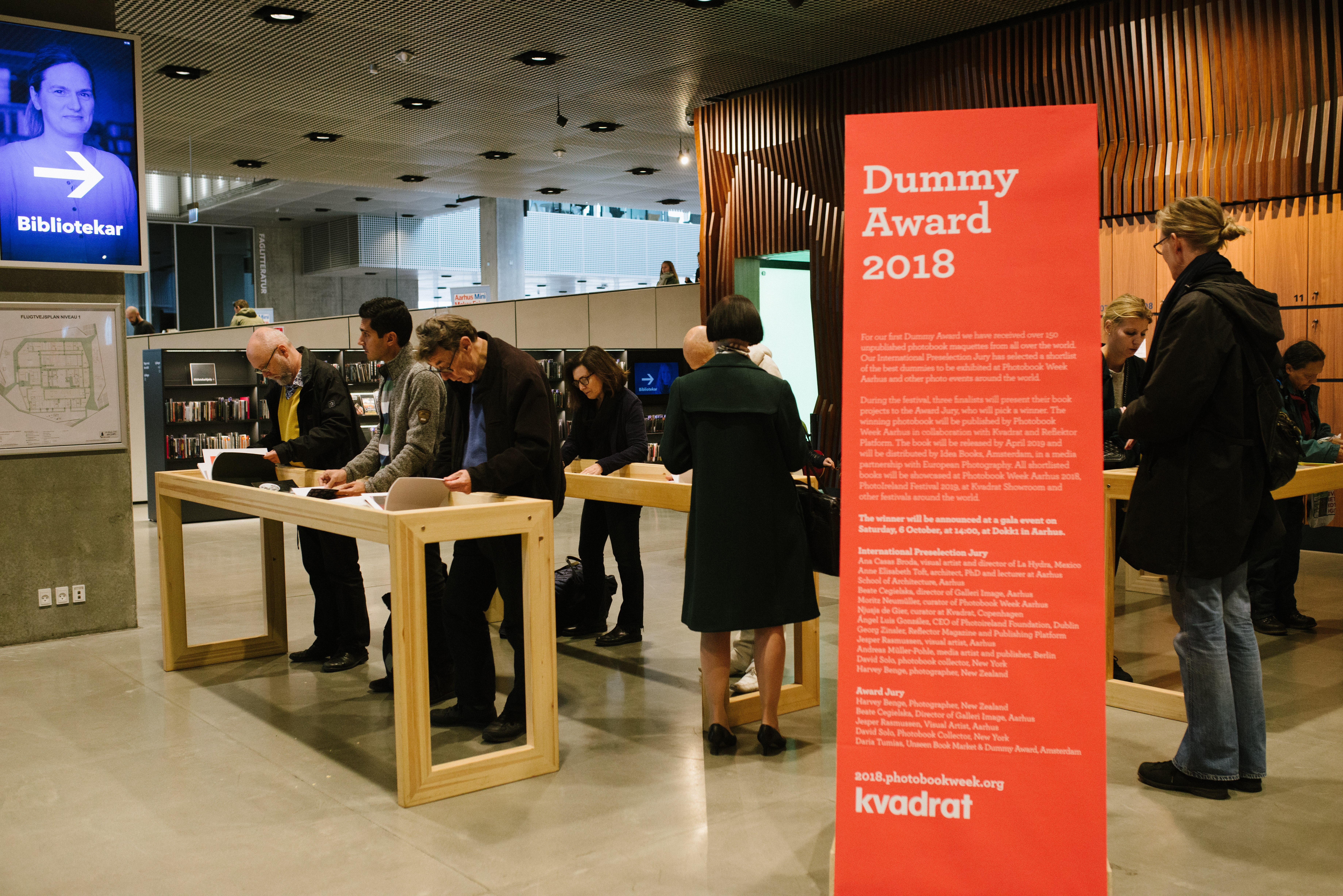 For the first time this year, PWA organized a Dummy award. The award ceremony took place at DoKK1.