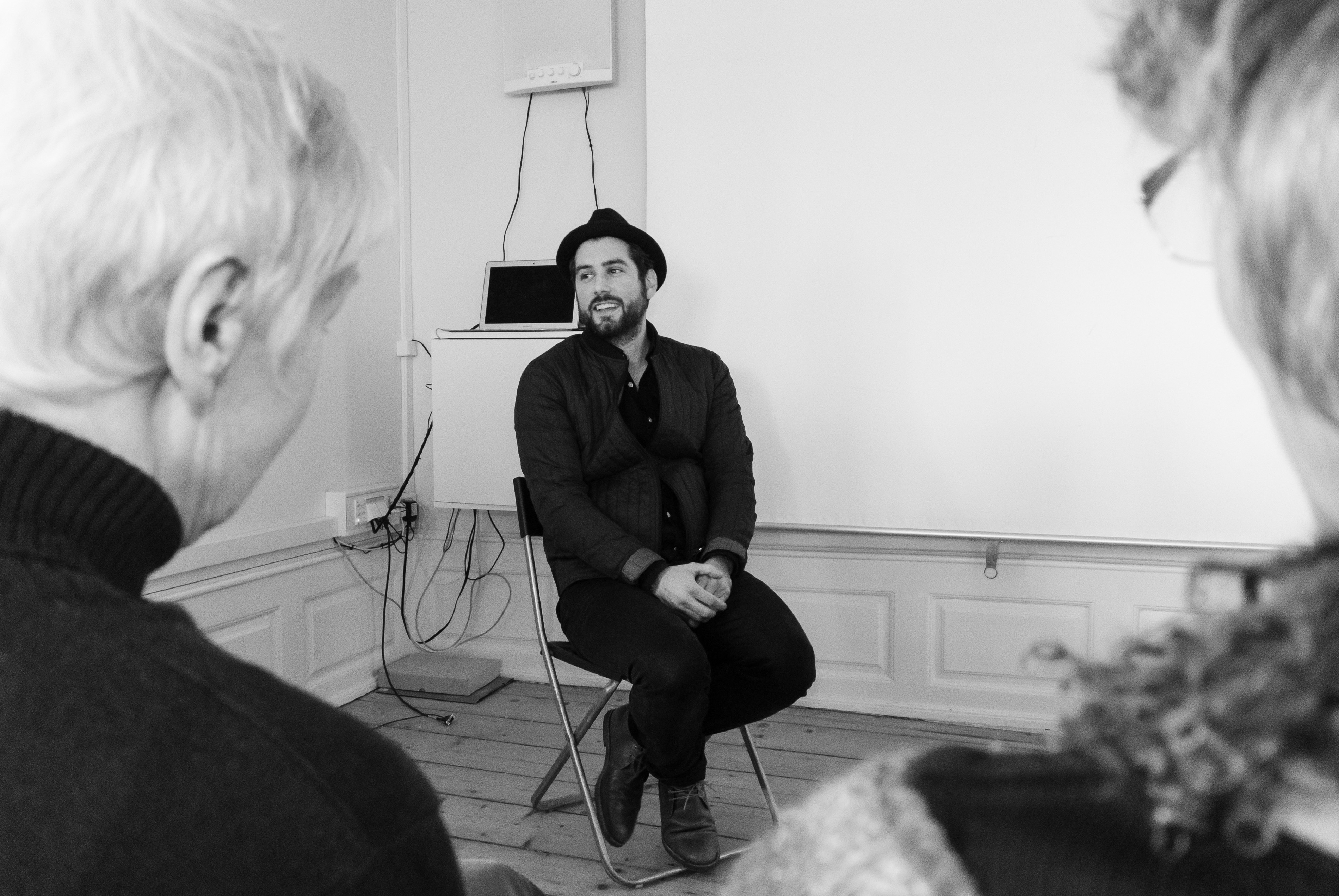 Q&A with Vladimir Tomic. Photo: Seedeich