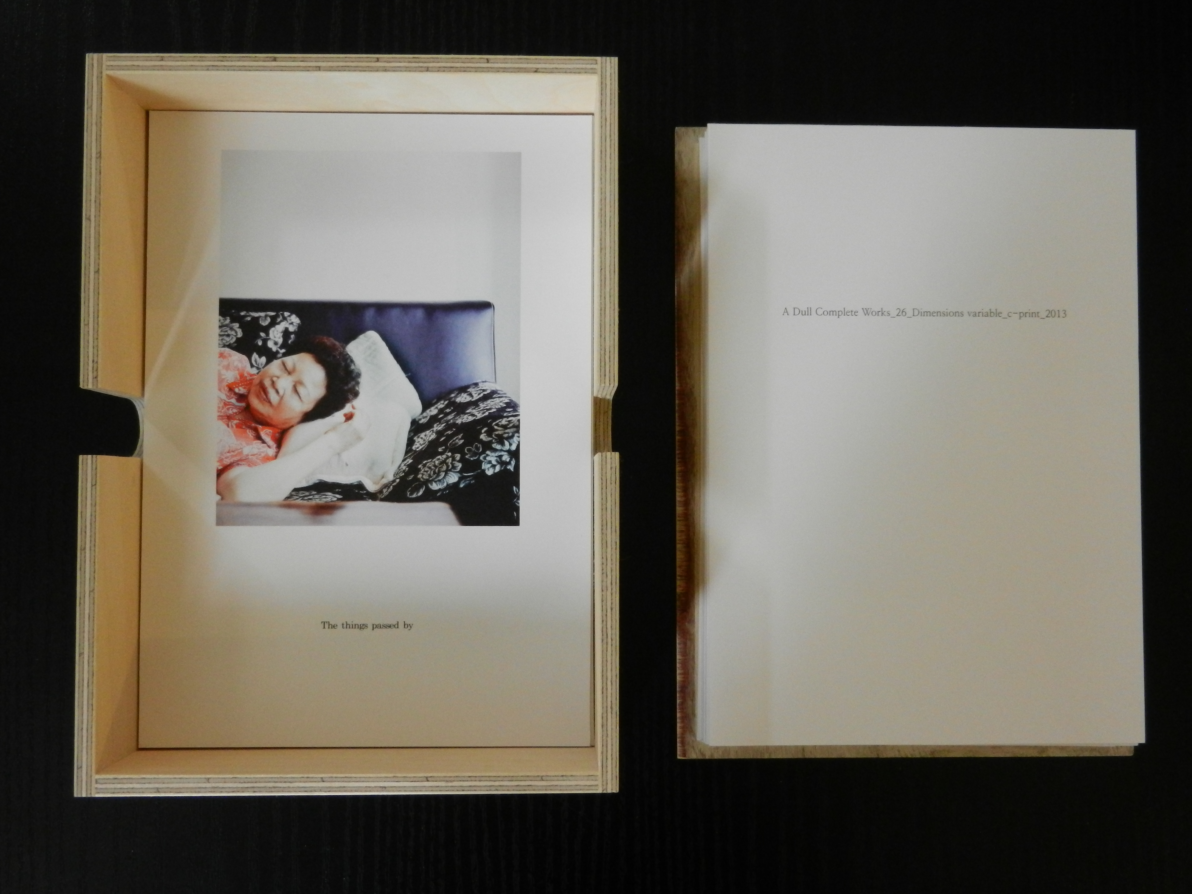 Changyu KIM: A Dull Complete Works (Photobook)